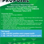 Call For Proposal 2019