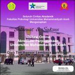 Selamat & SuksesVisitasi Online Akreditasi Perpustakaan UNMUHA