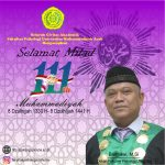 Selamat Milad Muhammadiyah ke 111 Tahun
